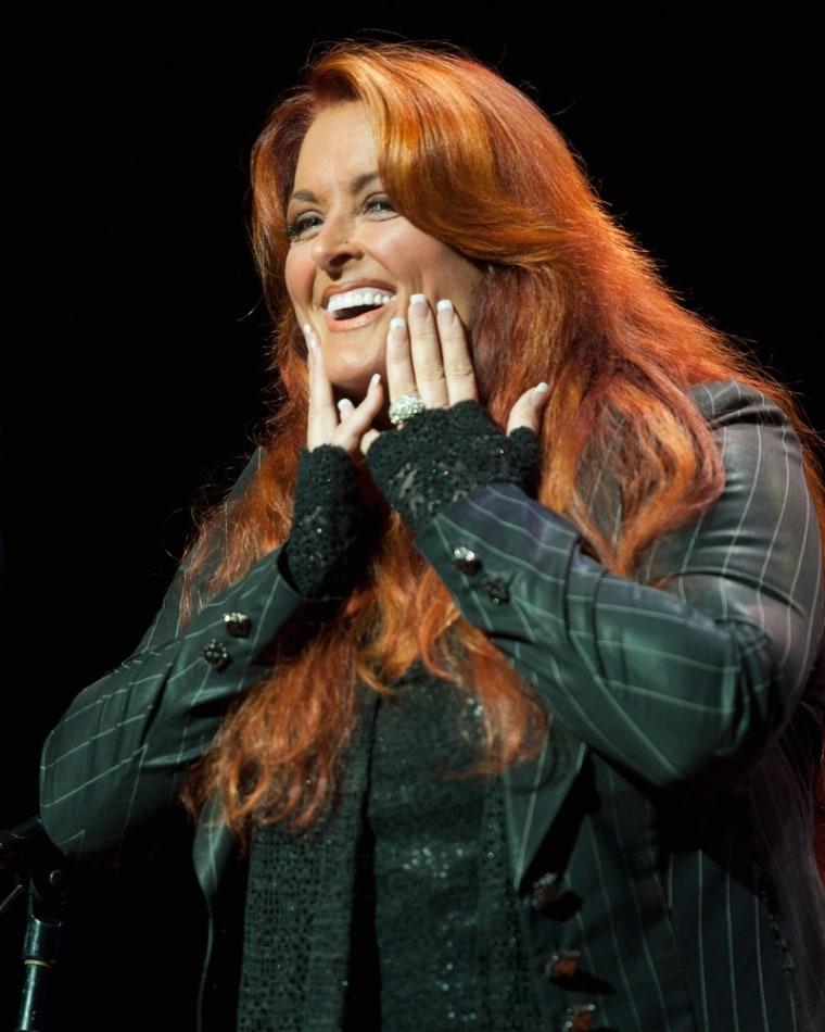 Wynonna Judd performs at the Ryman Auditorium in Nashville, Tenn., on June 7.