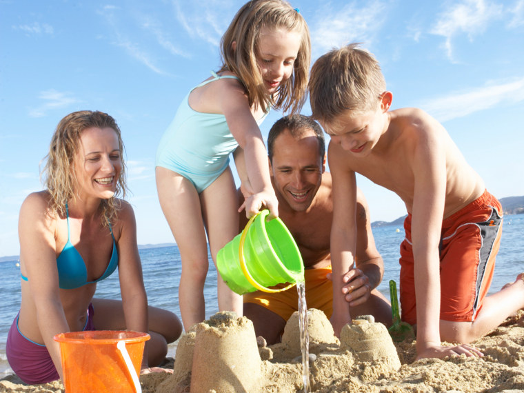 Sure, a family beach vacation is great, but time spent at home can be even more important.