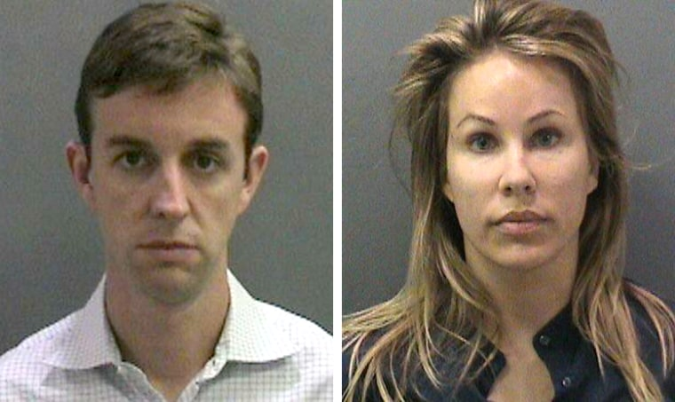 Police say Kent and Jill Easter's belief that their son wasn't being properly supervised at school led them to plant drugs on the PTA president.