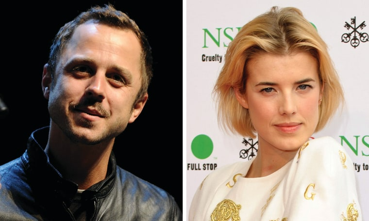 Giovanni Ribisi and Agyness Deyn.