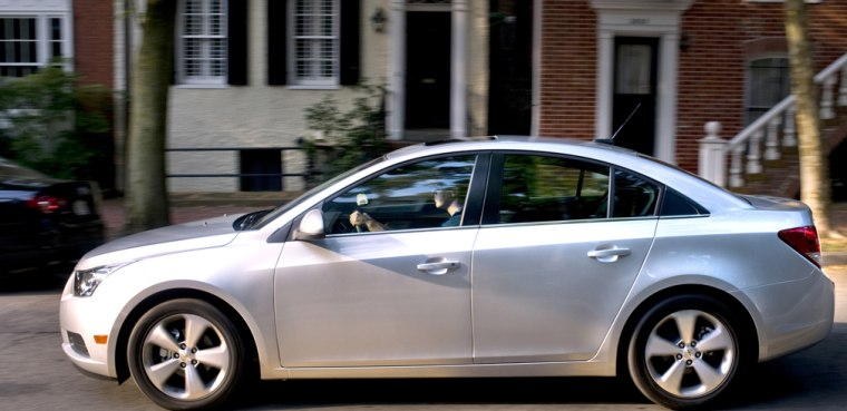More than 400,000 Chevrolet Cruze sedans are covered by a new recall.