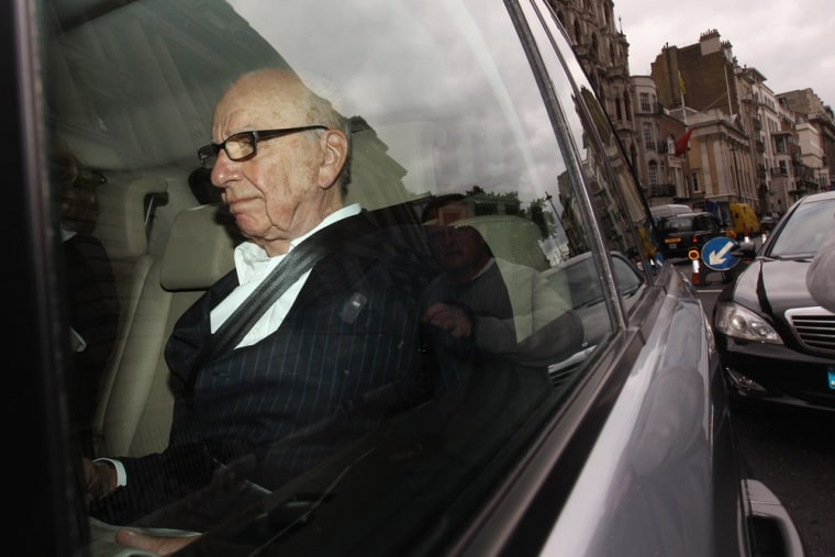 Rupert Murdoch has reportedly been against splitting up his News Corp. media empire.