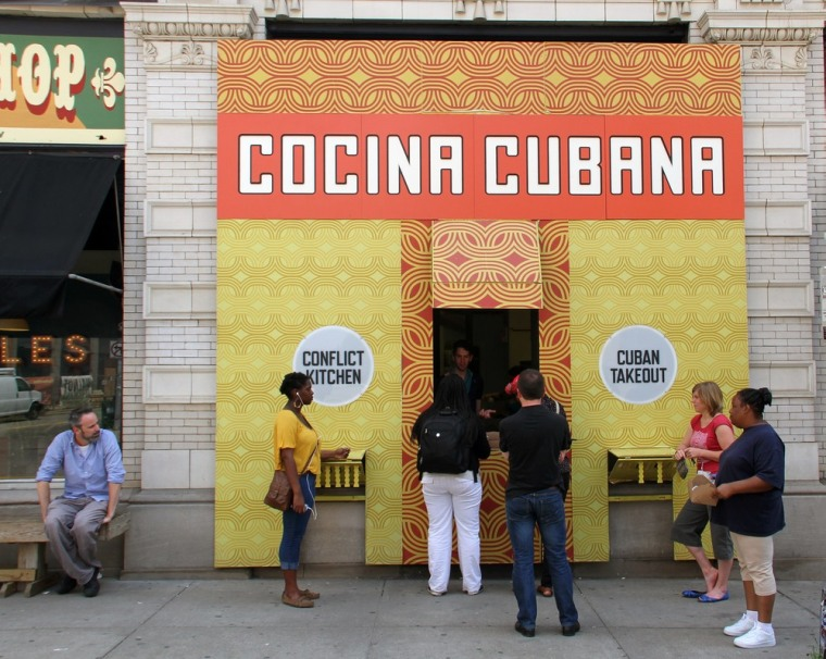 Cuban food is currently on the menu at Conflict Kitchen in Pittsburgh, Pa.