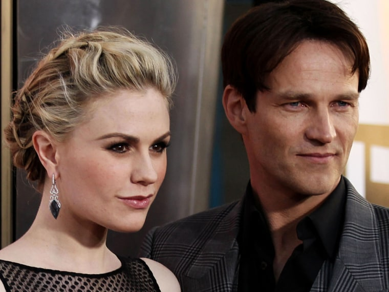 Anna Paquin and Stephen Moyer.