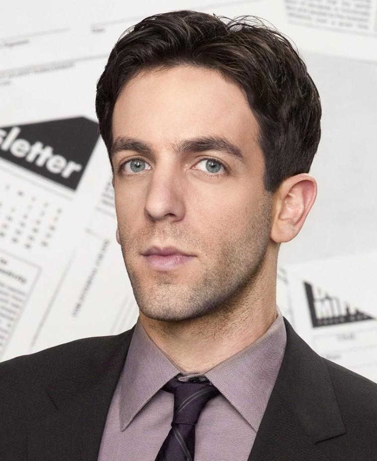 "B.J. Novak as Ryan Howard on ""The Office."""