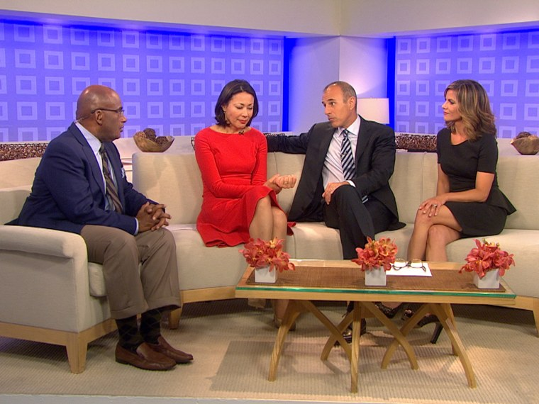 Al Roker, Ann Curry, Matt Lauer and Natalie Morales talk about Ann's new NBC role Thursday.