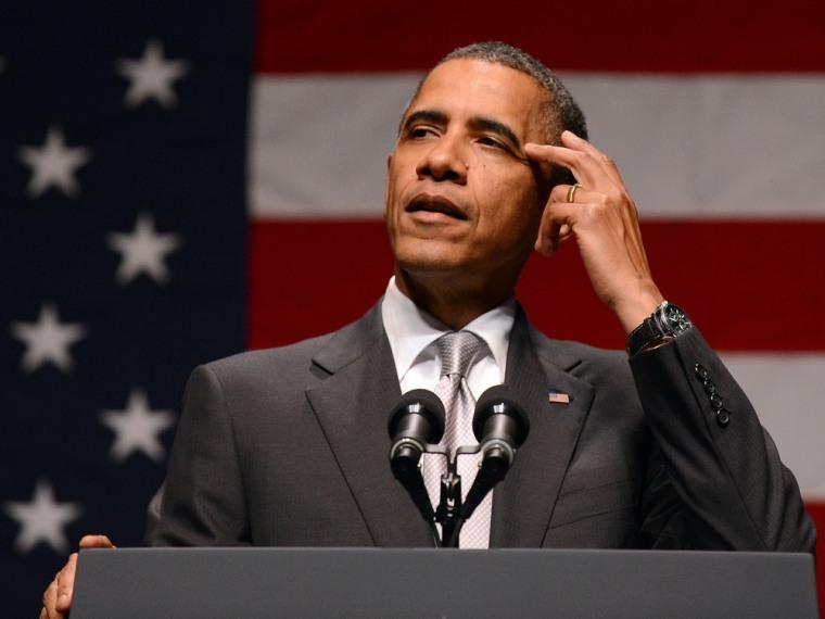 Obama at fund raiser