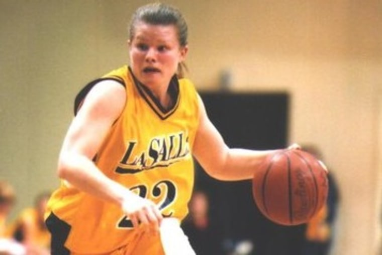 Jennifer Ngo, now a special agent for the FBI, during her playing days at La Salle University