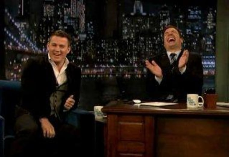 """During a Thursday night visit to """"Late Night,"""" Channing Tatum revealed the toughest part of his """"Magic Mike"""" prep."""