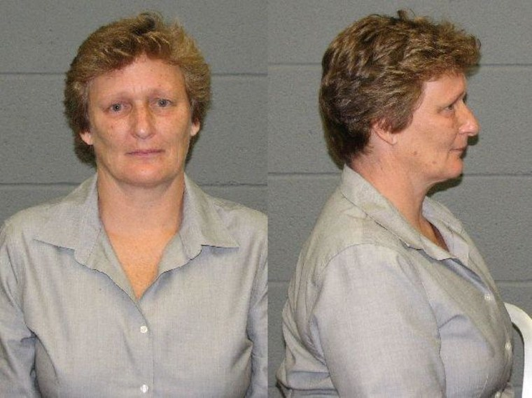 Former elementary school principal Maria Moultrhop was arrested after the school discovered she set up a fake account, funded by money from students and going on a personal shopping spree.