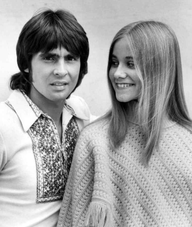 "UNITED STATES - DECEMBER 10:  THE BRADY BUNCH - ""Getting Davy Jones"" - Season Three - 12/10/71, As the president of his fan club, Marcia (Maureen McCormick) promised to deliver Davy Jones (as himself) to her school, but had no way of getting in touch with him. ,  (Photo by ABC Photo Archives/ABC via Getty Images)"