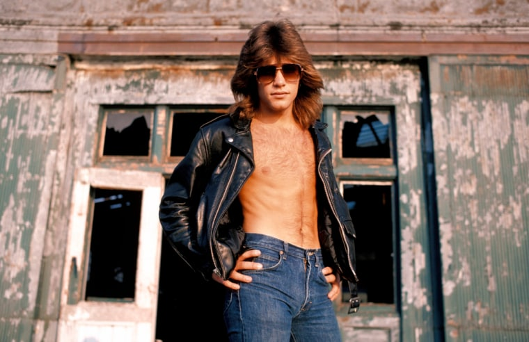 1982:  (FILE PHOTO)   On Friday March 02, 2012 Jon Bon Jovi will celebrate his 50th birthday.Please refer to the following profiles on Getty Images Archival for further imageryhttp://www.gettyimages.co.uk/Search/Search.aspx?EventId=103742171&EditorialProduct=Archival&esource=maplinARC_uki_mar12Photo of BON JOVI; Jon Bon Jovi  circia 1982. (Photo by Ebet Roberts/Redferns)