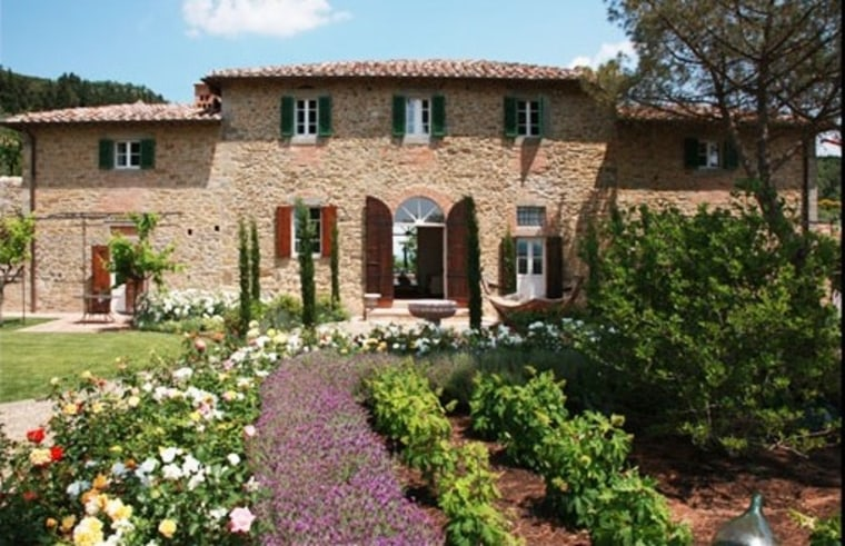 """The 16th-century villa featured in 2003's \""""Under the Tuscan Sun\"""" is up for sale. (Courtesy Rodeo Reality Fine Estates via The Hollywood Reporter)"""