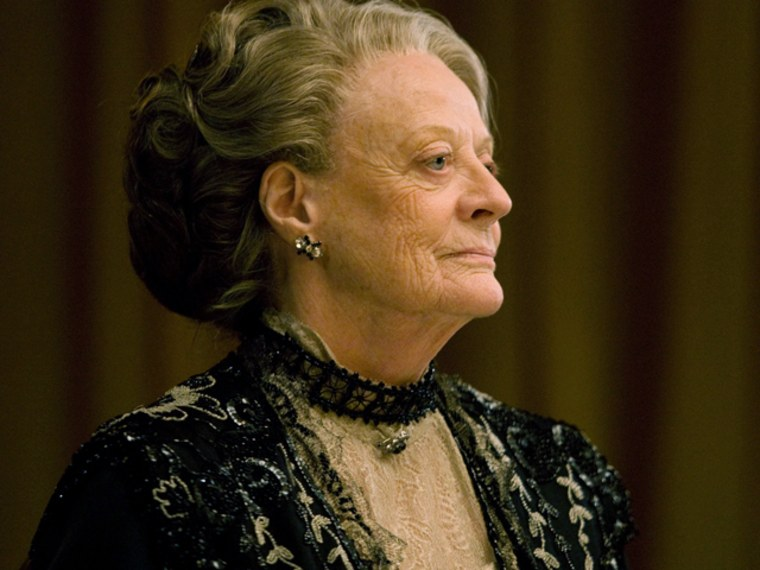 Downton Abbey Season 2 on MASTERPIECE ClassicPart 7 - Sunday, February 19, 2012 at 9pm ET on PBS                     Shown: Maggie Smith as The Dowager Countess(C) Carnival Film & Television Limited 2011 for MASTERPIECEThis image may be used only in the direct promotion of MASTERPIECE CLASSIC. No other rights are granted. All rights are reserved. Editorial use only.