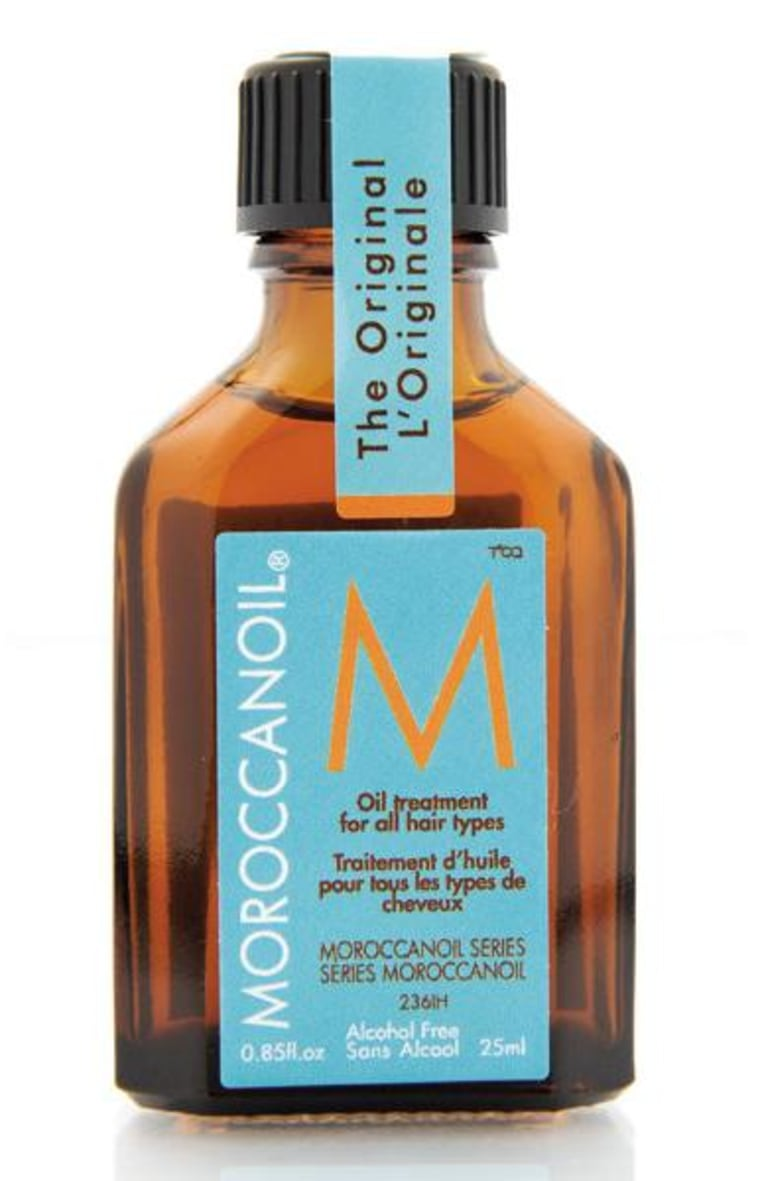 Katie Quinn's hair secret? The addictive Moroccan Oil.