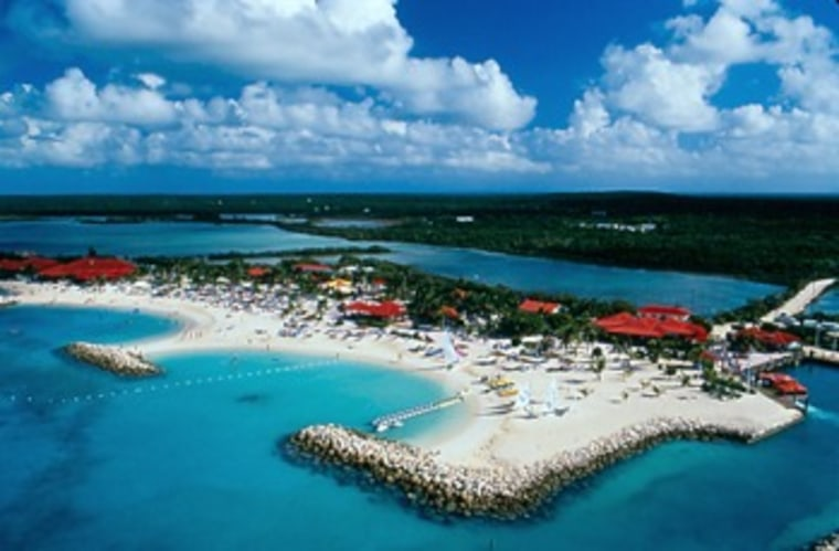 Princess Cays in the Bahamas, along with Nassau, is among the 10 most popular cruise ports in the world.