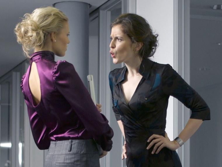 women, businesswoman, office, suit, power, yell, argue, heels, scream, woman, cubicle