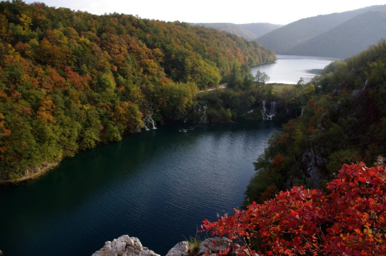 Plitvice Lakes National Park in Croatia is famous for its spectacular lakes.