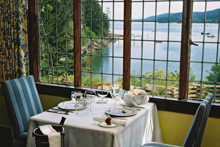 Hastings House hotel is a small  luxury resort, spa and restaurant that standss on 22 acres on the waterfront of Ganges Harbor, Salt Spring Island, British Columbia.
