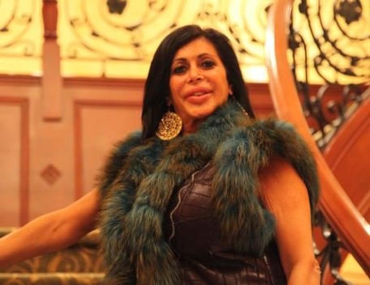 "Big Ang from VH1's \""Mob Wives\"""