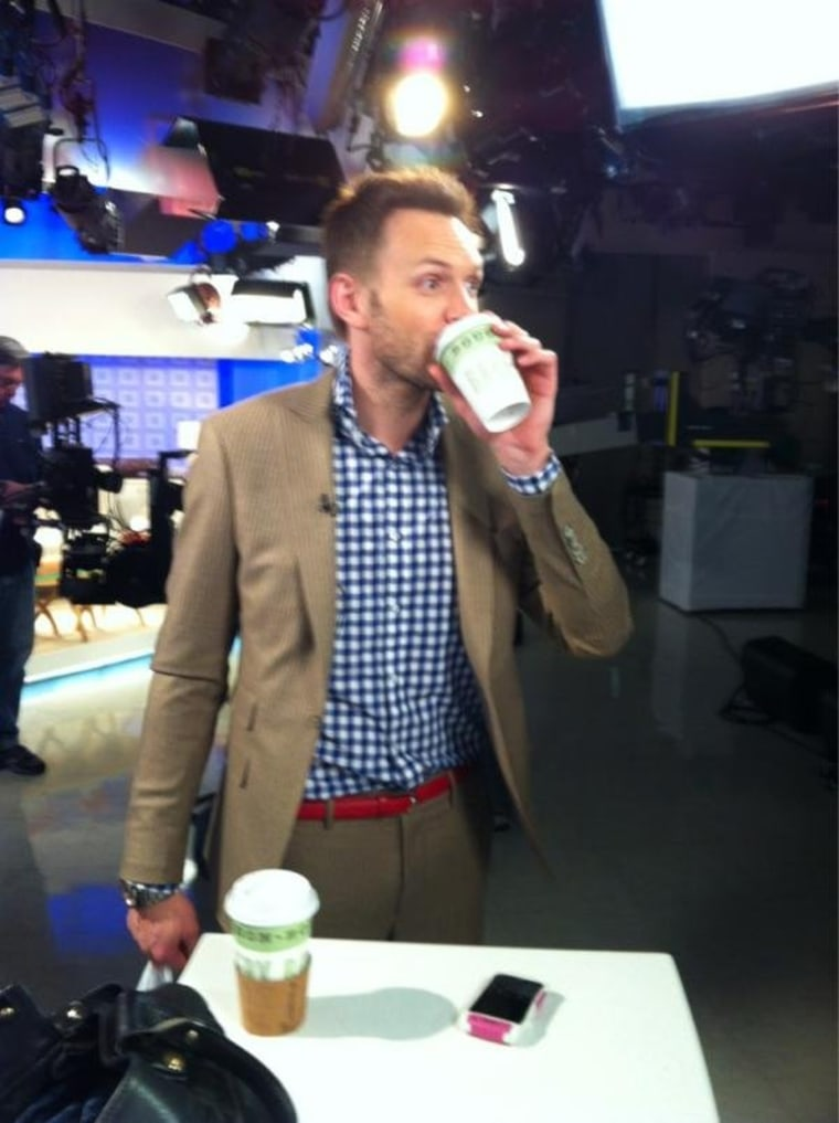 I love love love love @joelmchale!!! #thesoup has replaced #absofsteel workout...better results from the laugh fest