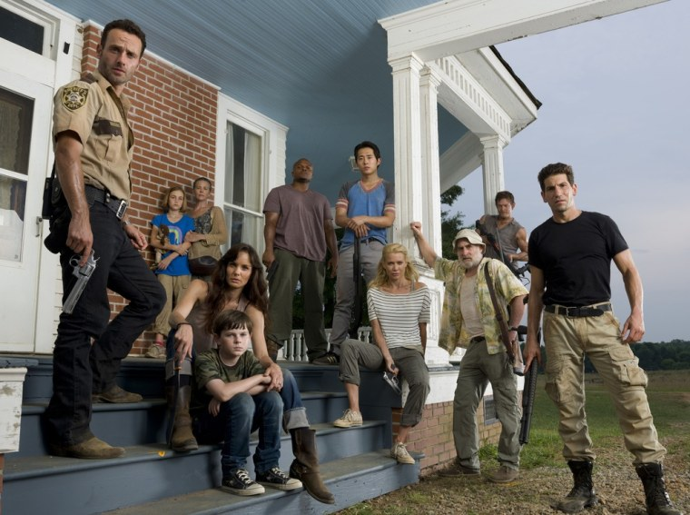 Some of these folks are already dead -- Sophia, Shane and Dale -- but will everyone make it out of season 2 alive? Not likely.