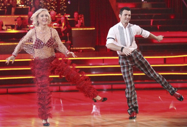 The judges couldn't find much to praise about Martina's jive on Monday.