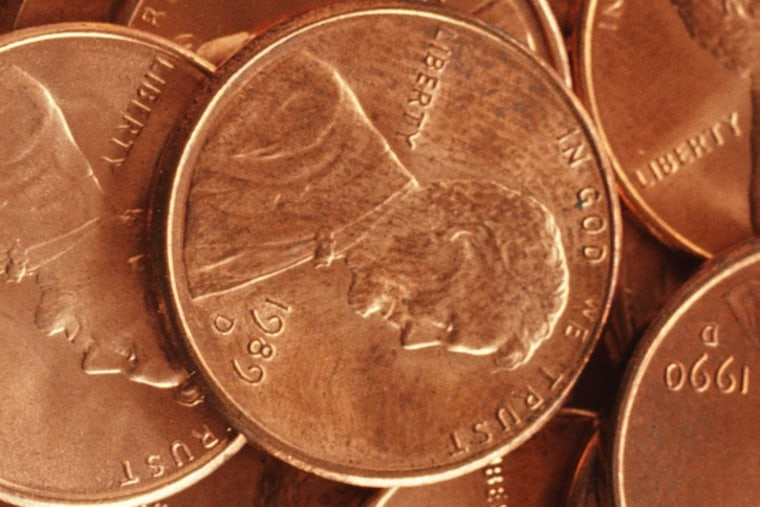 The humble penny costs 2.41 cents to make. That's up from 1.23 cents in 2006