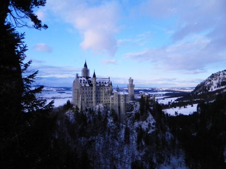 Neuschwanstein Castle in Fussen Germany