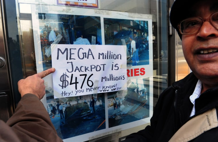 Sure, a $500 million jackpot is big, but after taxes ... better just tell the hiring manager you would have to think about your options.