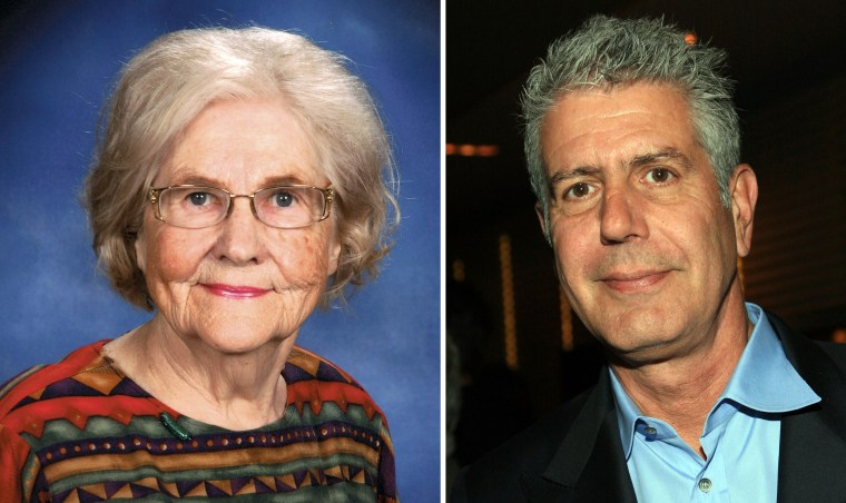 North Dakota newspaper columnist Marilyn Hagerty came to fame with her earnest review of Olive Garden -- so much so that she may be collaborating on a book with outspoken chef Anthony Bourdain.