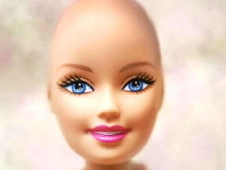 After a Facebook campaign, Mattel has agreed to make a bald version of Barbie.