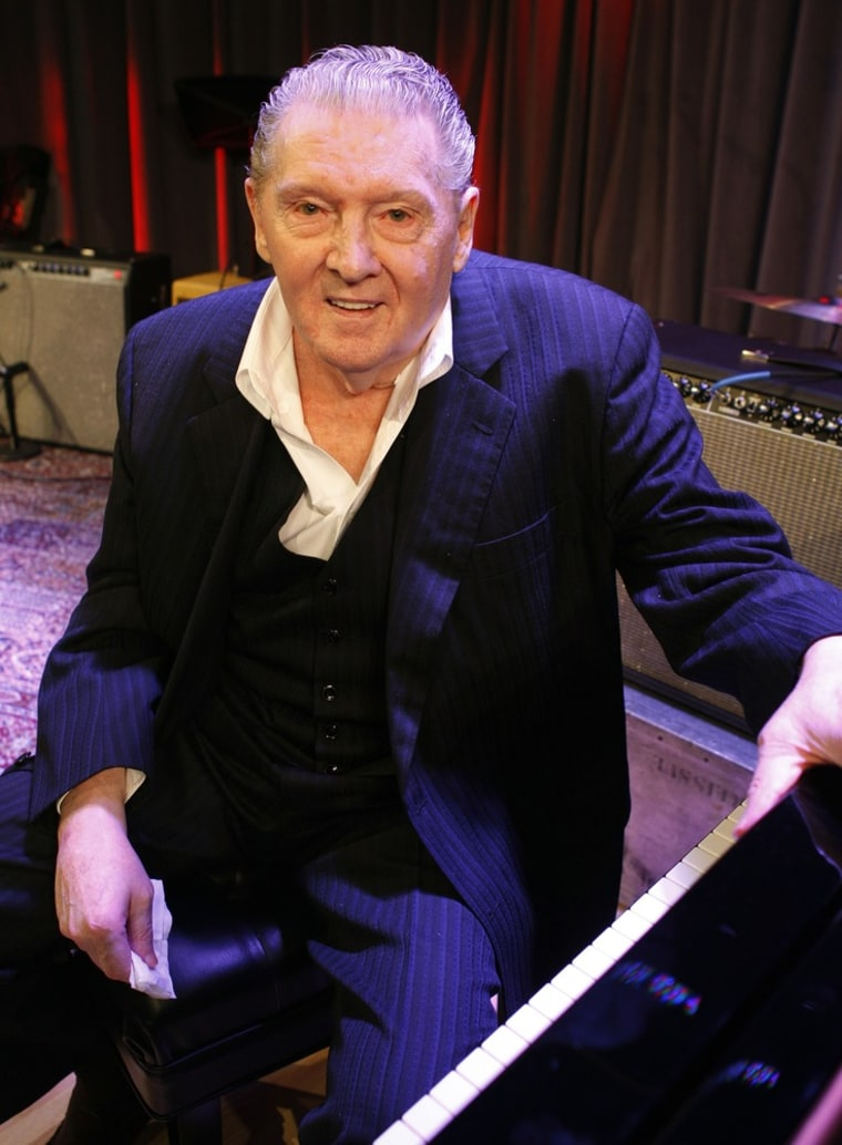 Jerry Lee Lewis in 2010.
