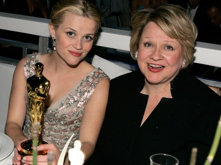 Reese Witherspoon and mother Betty in 2006.