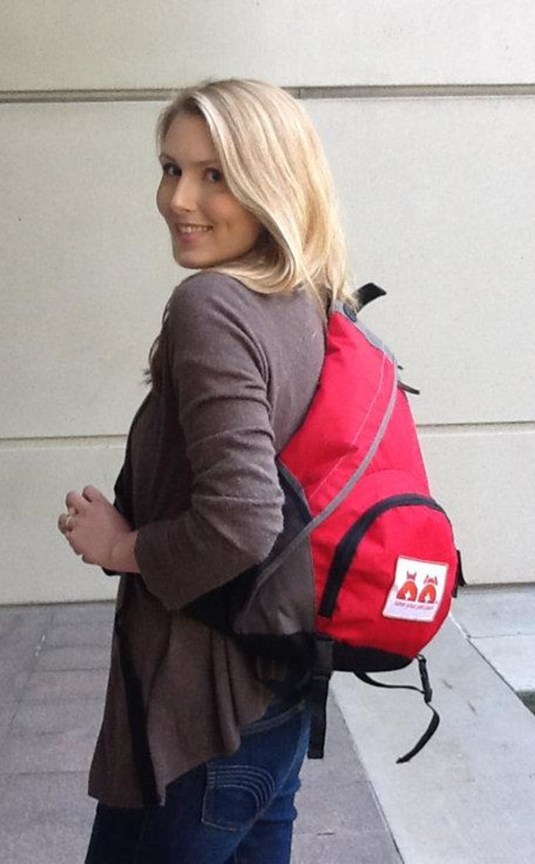The pet pack will help you be prepared for an emergency while looking like you're carrying a regular bag.
