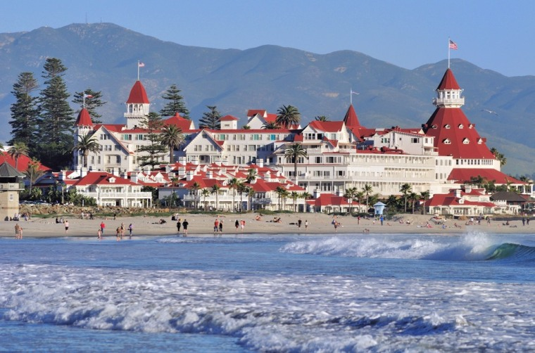 Coronado Beach in San Diego tops this year's list of best beaches, compiled annually by