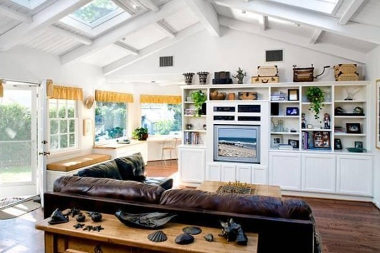 Adam Levine's 6-bed, 7-bath Beverly Hills home was built in 1940 and features high ceilings and wood floors