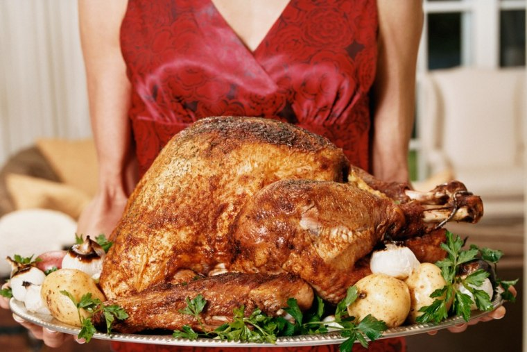 Retailers locked in their prices for turkeys this year, so Thanksgiving won't break the bank for most Americans.
