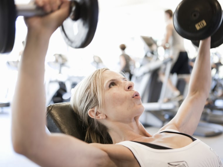 Lifting weights is a great way to reduce visceral fat.
