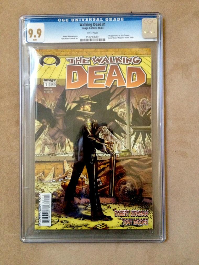 First 'Walking Dead' comic sells for $10K on eBay