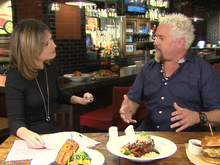 In his first interview since a harsh New York Times critique of his restaurant, Guy Fieri chats with Savannah Guthrie.
