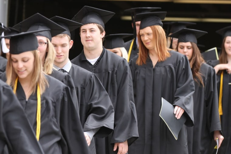 The rate of growth of United States students getting a college education has slowed in recent years.