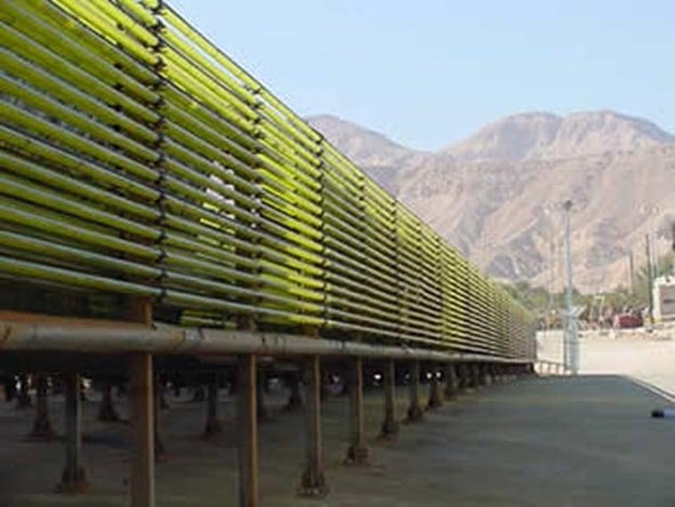 Image: Algae biofuel production system