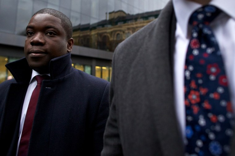 Former UBS banker Kweku Adoboli, shown above, was sentenced to seven years in jail for the largest fraud in British history.