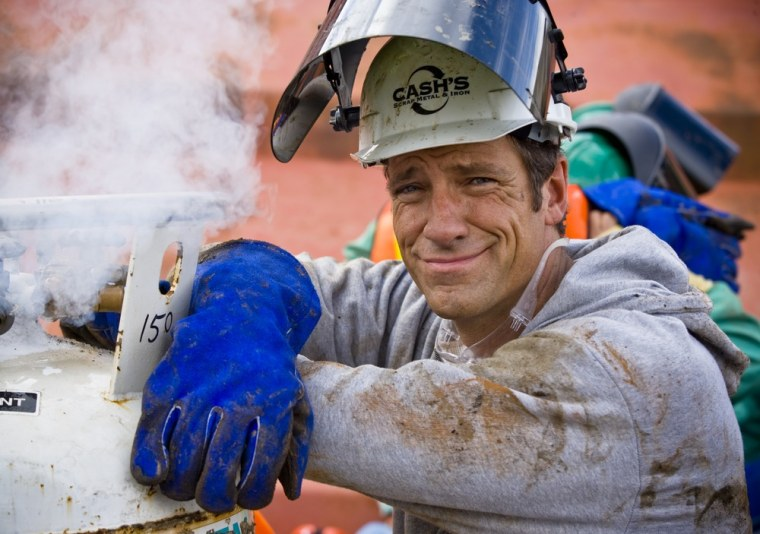 "Mike Rowe on ""Dirty Jobs."""