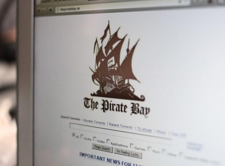 Pirate Bay shot