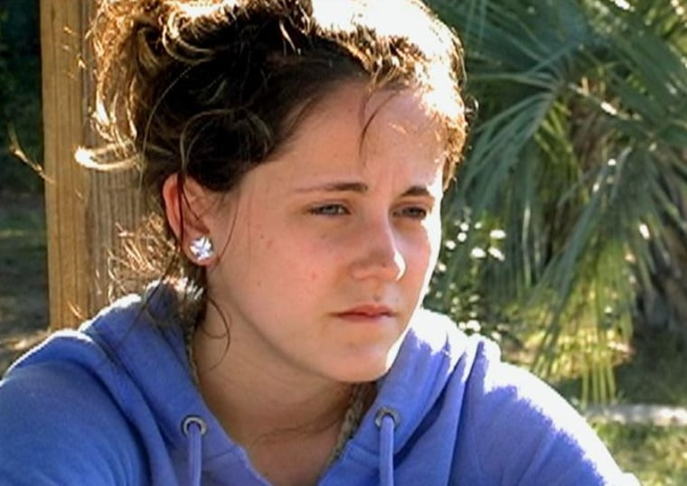 "Jenelle Evans on season two of MTV's ""Teen Mom 2."""