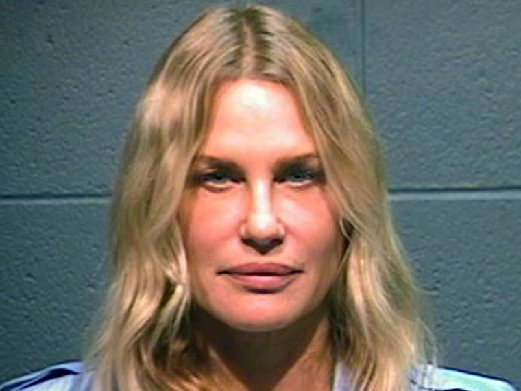 Daryl Hannah, as photographed by the Wood County, Texas sheriff's office after her arrest.