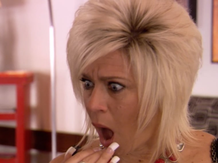 Theresa Caputo is shocked by what she sees at the Padre Hotel.