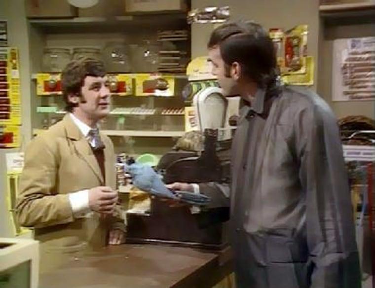 Monty Python's Dead Parrot sketch is a comedy classic.